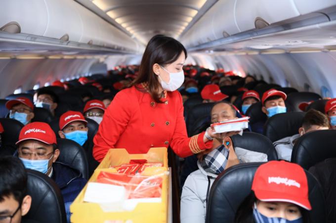 Vietjet miễn phí xét nghiệm n-covid cho hành khách bay từ TP Hồ Chí Minh