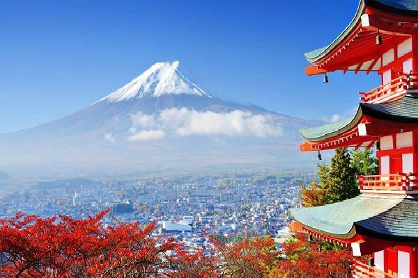 Núi Phú Sĩ ở Nhật Bản