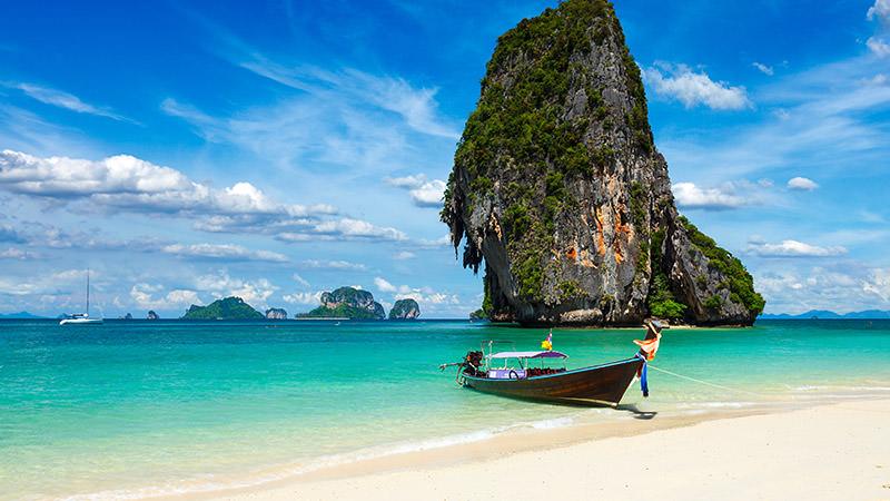 Railay beach – Raily Peninsula - Thái Lan