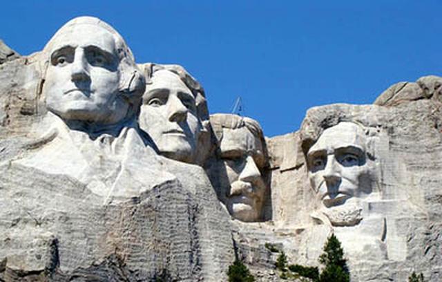 Kết quả hình ảnh cho Núi Tổng Thống Mount Rushmore, phía Nam bang Dakota