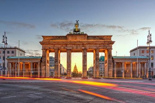 Kết quả hình ảnh cho Cổng Brandenburg: