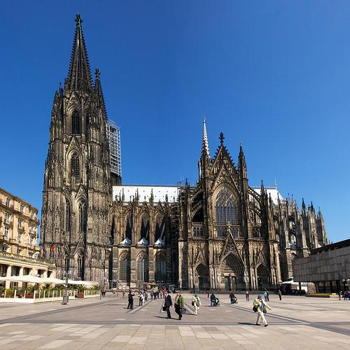 Kết quả hình ảnh cho 2. Nhà thờ lớn Cologne: