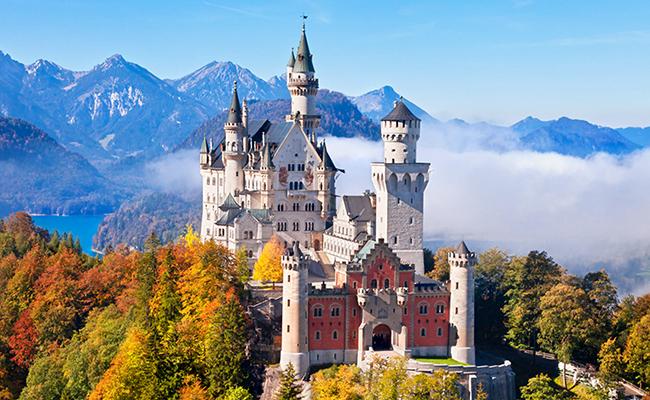 Kết quả hình ảnh cho 3. Lâu đài Neuschwanstein
