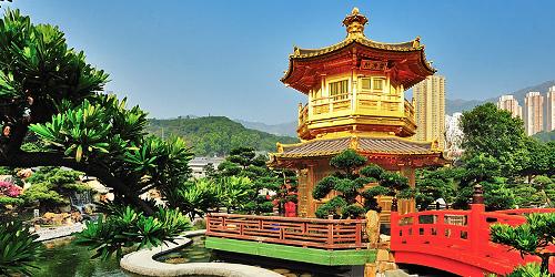Kết quả hình ảnh cho Vườn Nan Lian: