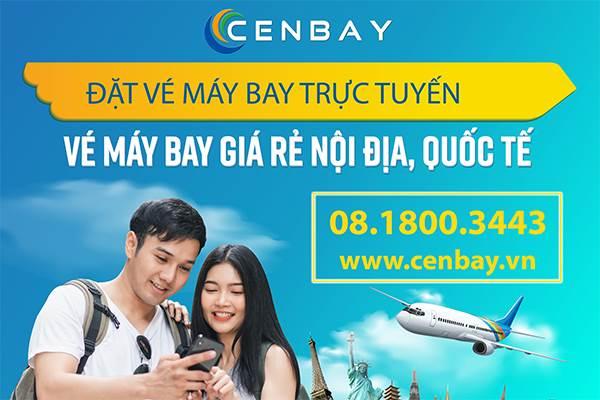 Cenbay vé máy bay giá rẻ Nội địa và Quốc tế