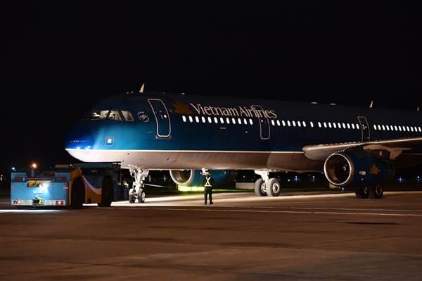 Chuyến bay đưa công dân Việt Nam từ Vũ Hán về nước
