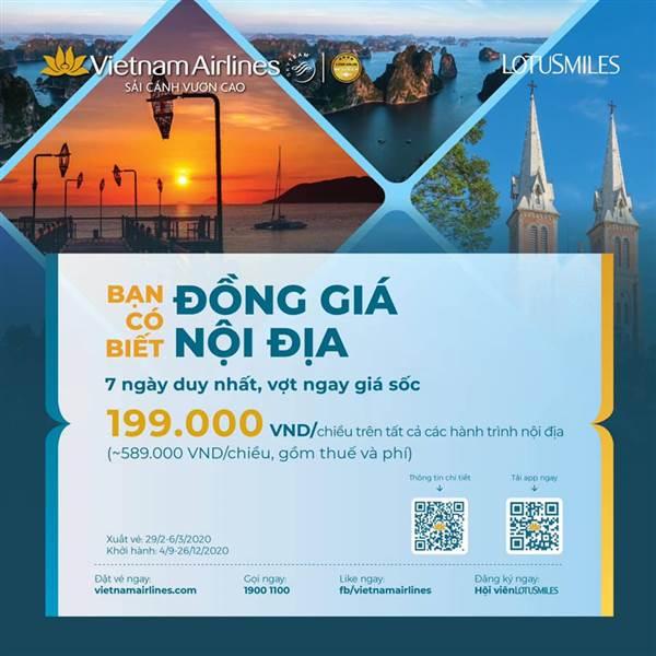 Vietnam Airlines thông báo