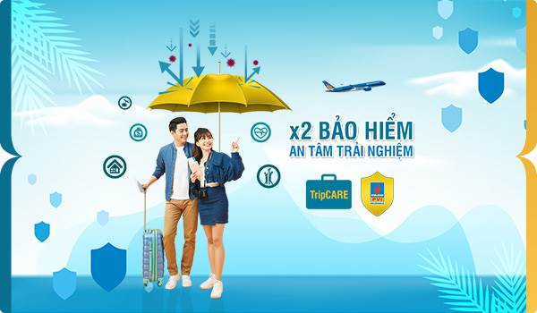 Vietnam Airlines X2 Bảo hiểm - An tâm trải nghiệm