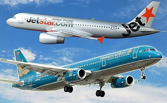 """Vietnam Airline và Jetstar Pacific """"về chung một nhà"""", vé máy bay lập tức giảm còn 49.000 đồng"""