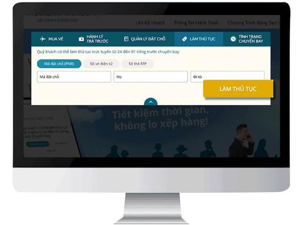 Vietnam Airlines triển khai dịch vụ làm thủ tục trực tuyến tại sân bay Cát Bi 1